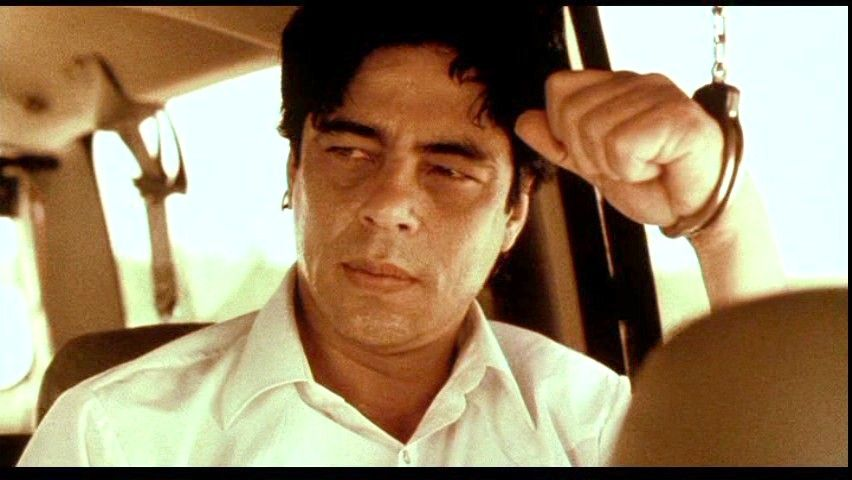 Image result for Benicio del Toro traffic