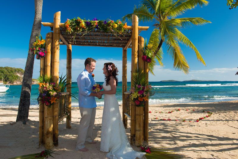 Bolongo Bay Beach Resort Wedding Gallery