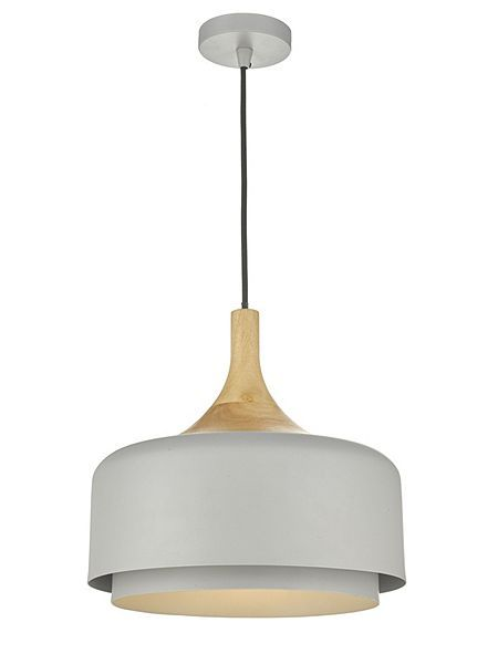 Gray willow leon two tier wooden diner pendent house of fraser