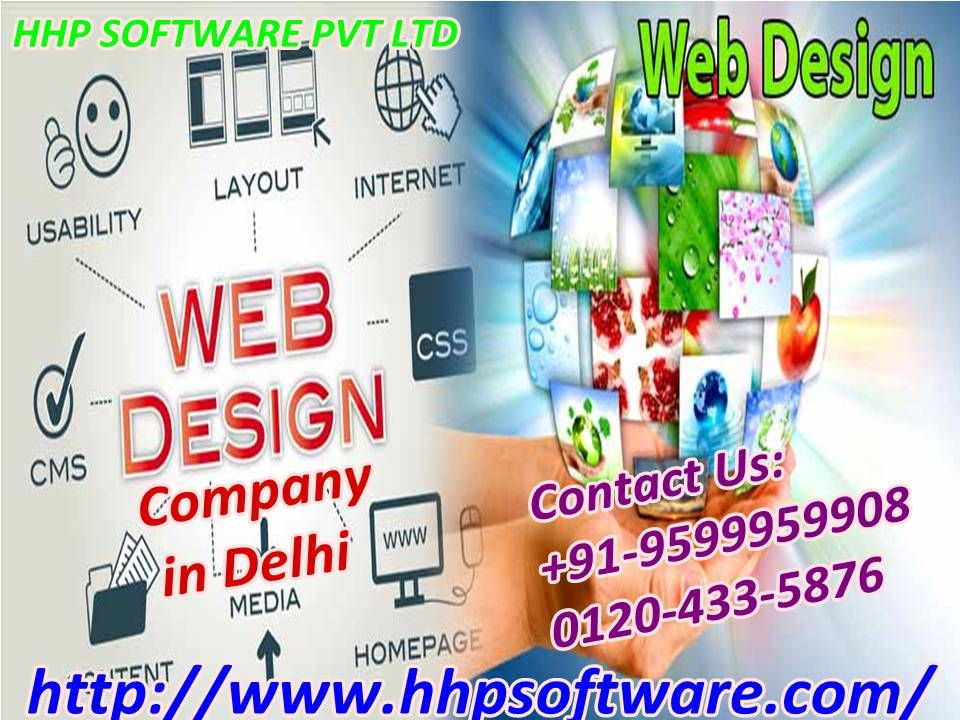 Knowing about a web designing company in delhi 91