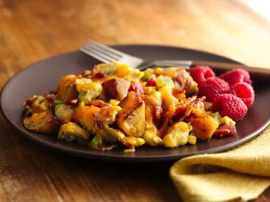 Scrambled eggs just got a whole lot better. Add our ...