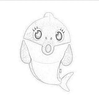 Pinkfong Baby Shark Song Doll Coloring Pages Downloadable ...