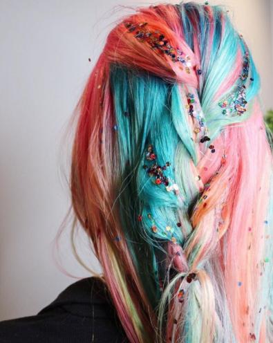 14 Regenbogen Ombre Haar Farben Neue Besten Frisur Coole Frisuren Ombre Haare Haar Styling