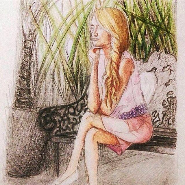 Illustration ilustracion YoursTrulyAprilita