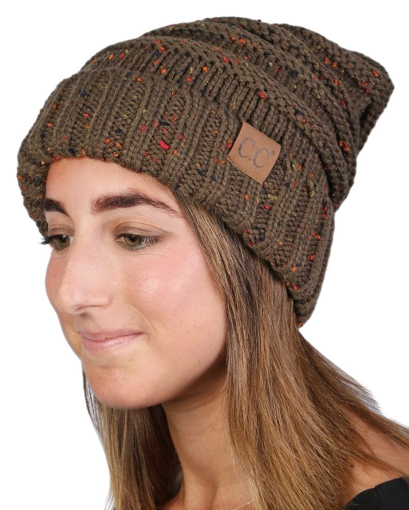a304139f Oversized Slouchy Beanie -CONFETTI Olive Oversized Slouchy Beanie FREE SHIP  #FunkyJunque #womens