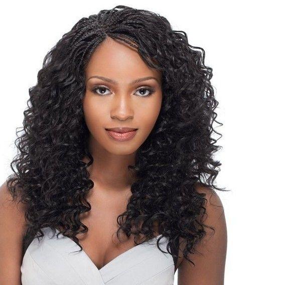 72 Best Micro Braids Hairstyles With Images Micro Braids Styles