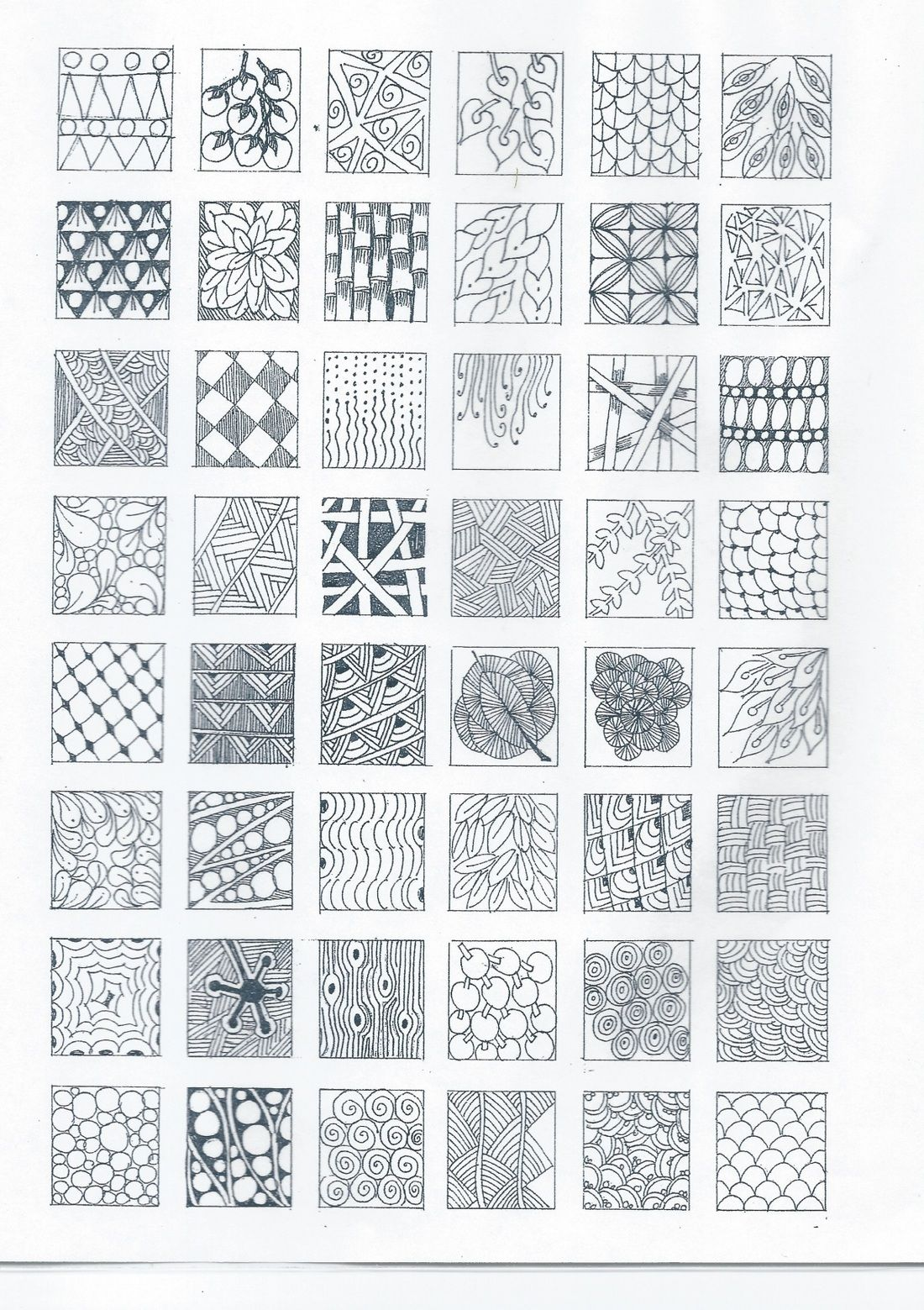 Zentagle Patterns Interesting Design