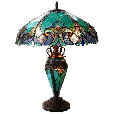 Chloe Lighting Liaison 24 5 In Tiffany Style Victorian Bronze