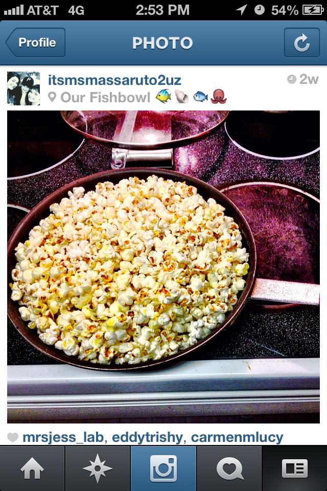 No Microwave Popcorn in our home