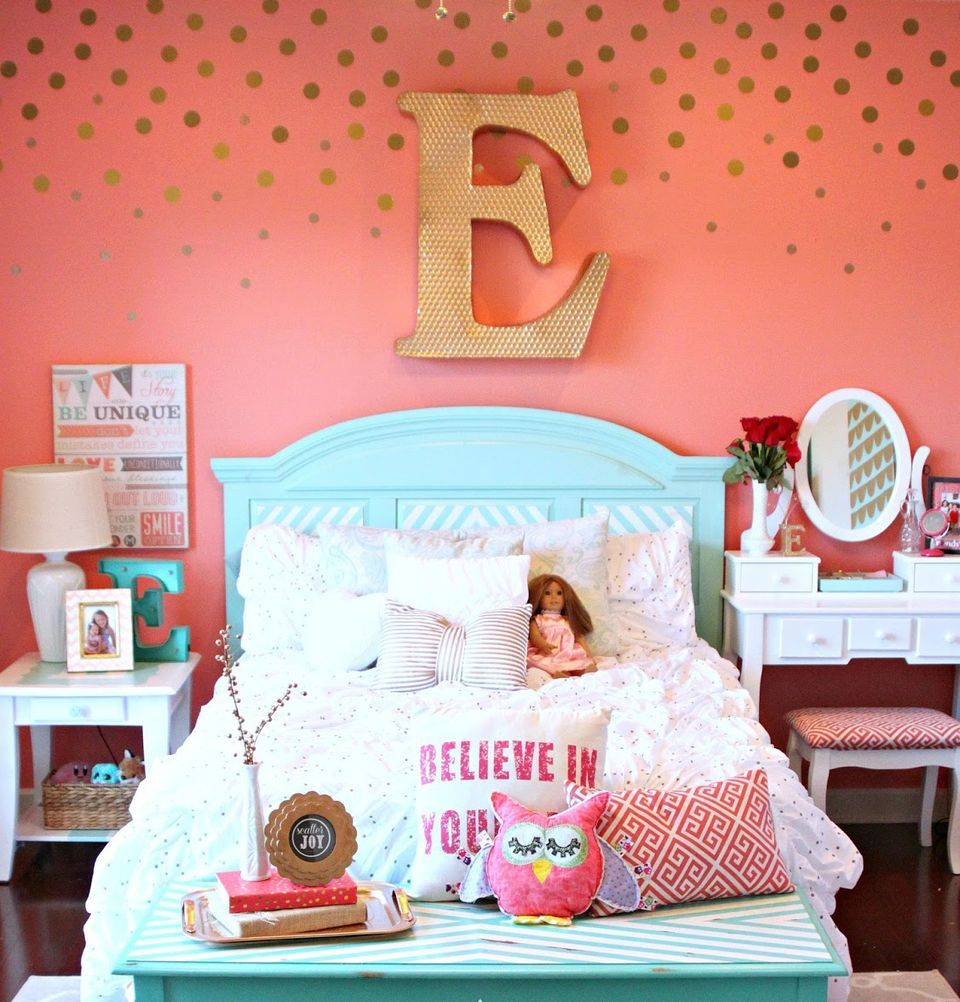 24 Wall Decor Ideas For Girls Rooms Big Girl Bedrooms Girl
