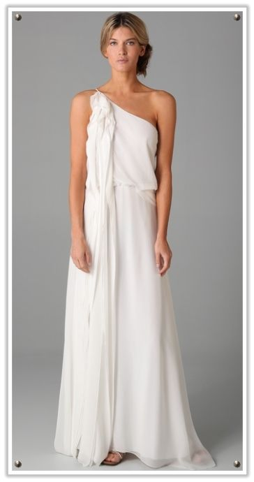 Grecian Dress Thoroughly Modern Roman And Wedding