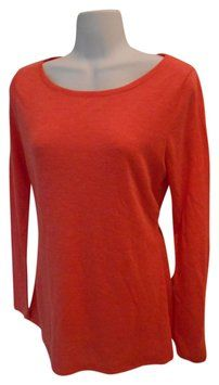 ddc3fc45a6c41 Old Navy Long Sleeve Tee Small 4 6 T Shirt Coral  12 with FREE SHIPPING