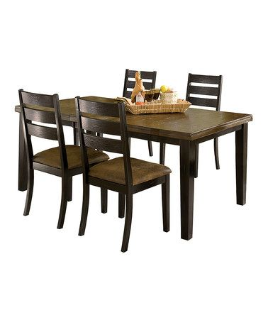 Another great find on #zulily! Killarney Five-Piece Dining Set #zulilyfinds