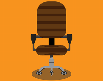 Check Out New Work On My Behance Profile Vector Chair Http Be Net Gallery 89222681 Vector Chair Vector Graphic Design Illustration Vector Art