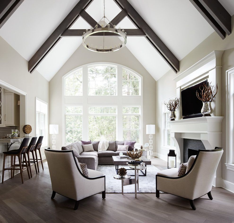 Living Room Ideas Vaulted Ceiling In 2020 Beams Living Room