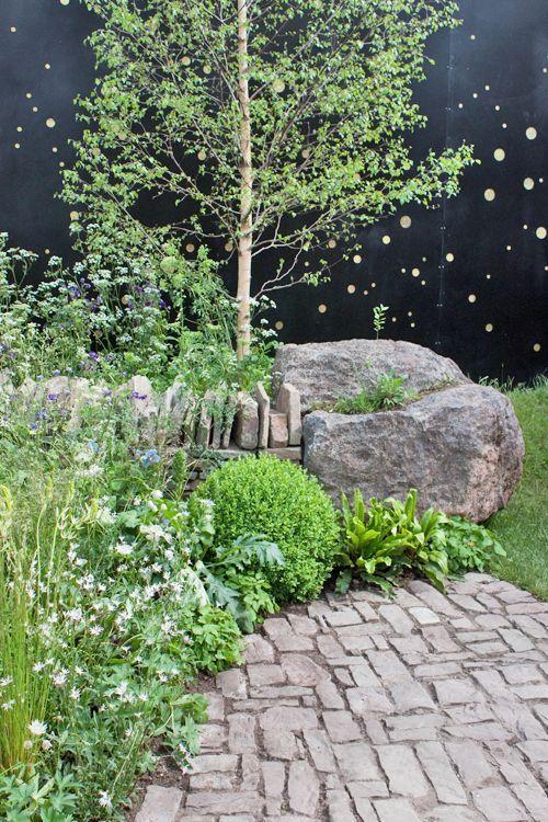 Vital Earth The Night Sky Garden Plan Google Sok Chelsea Flower Show Sky Garden Chelsea Flower
