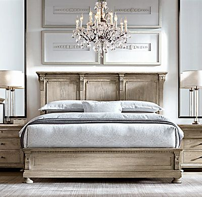 RHu0027s St. James Panel Bed:Evoking The Architectural Classicism Of Turn Of