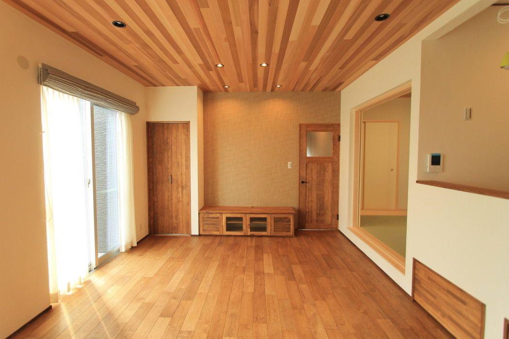 建築事例 ハウス 住宅 リビング キッチン
