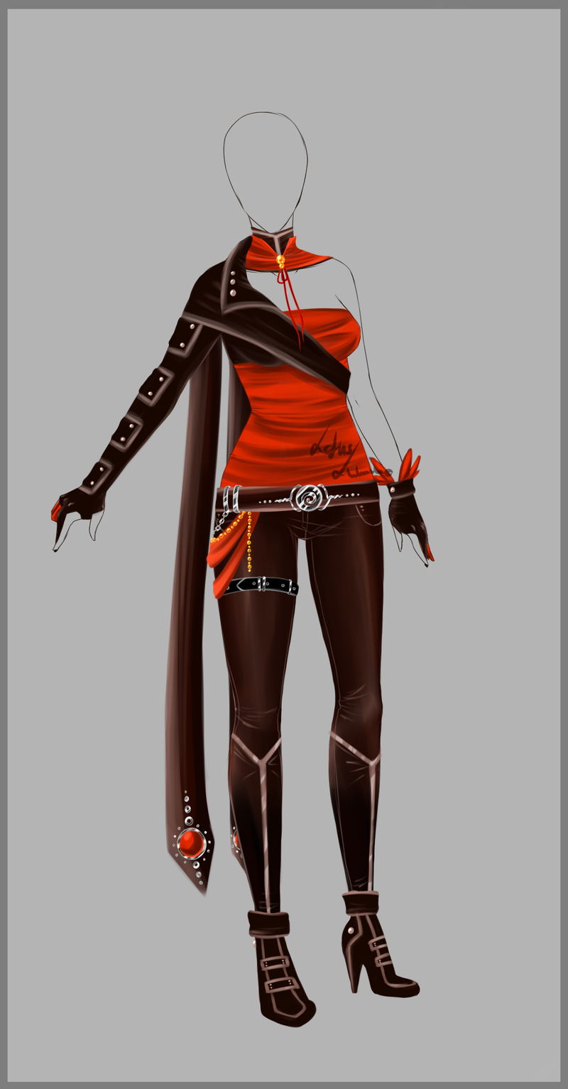 Outfit design - 73 - closed by LotusLumino.deviantart.com on @deviantART | #ANiME - FASHiON ...