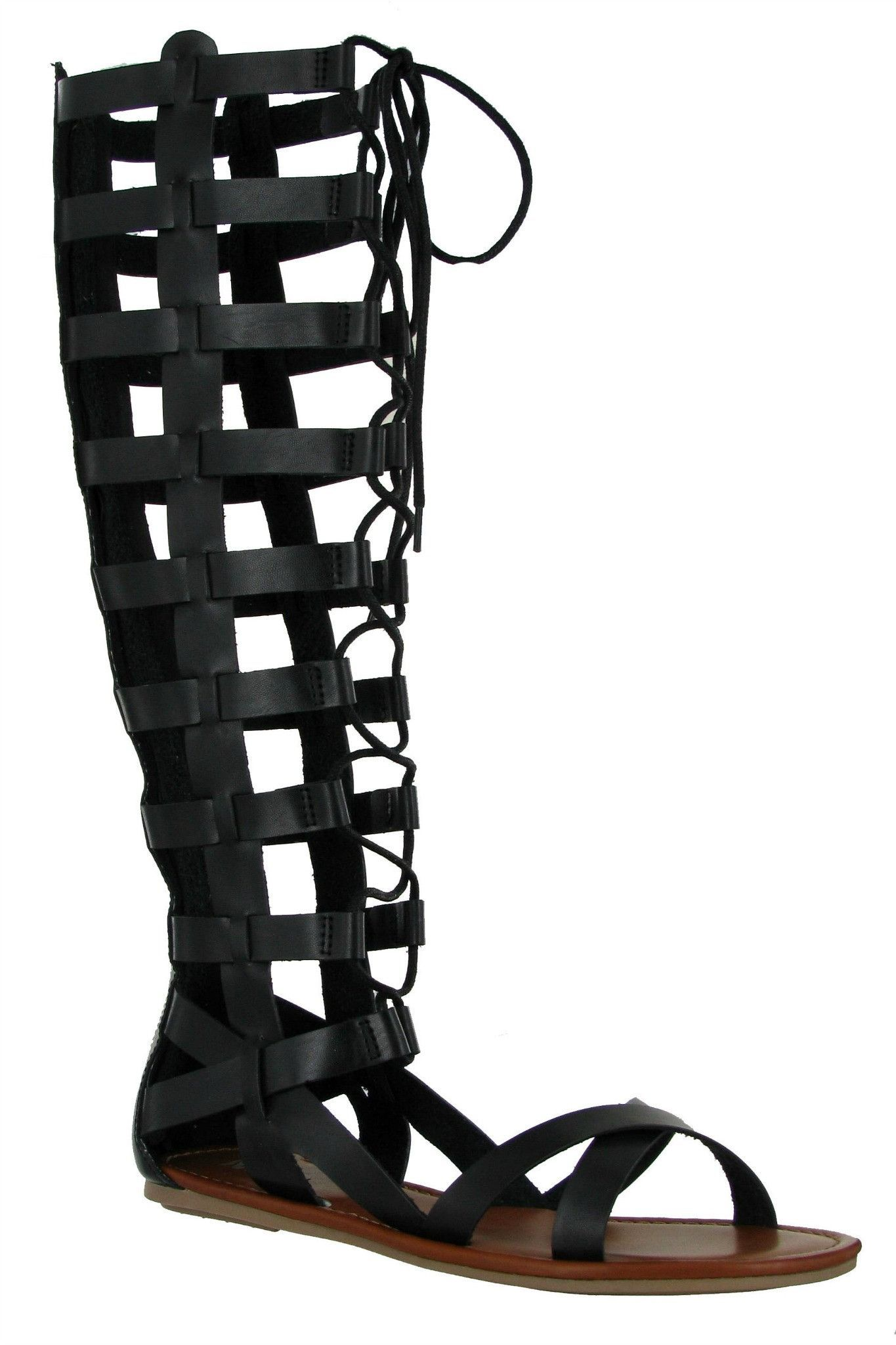 7df832eae9d6 MIA Devi Lace-Up Gladiator Sandal