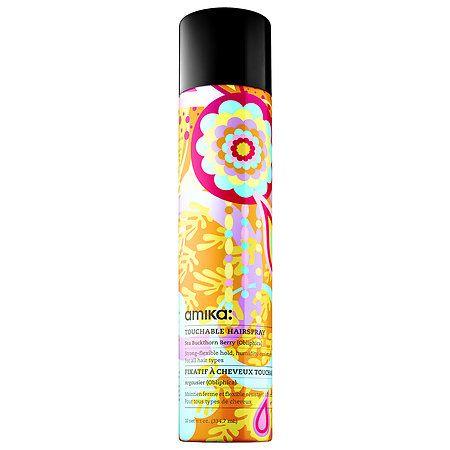 Fluxus Touchable Hairspray Amika Sephora Dry Shampoo Anti Frizz Products Hairspray