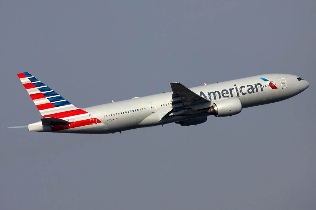 American Airlines Wide Body Fleet Boeing 777 200er