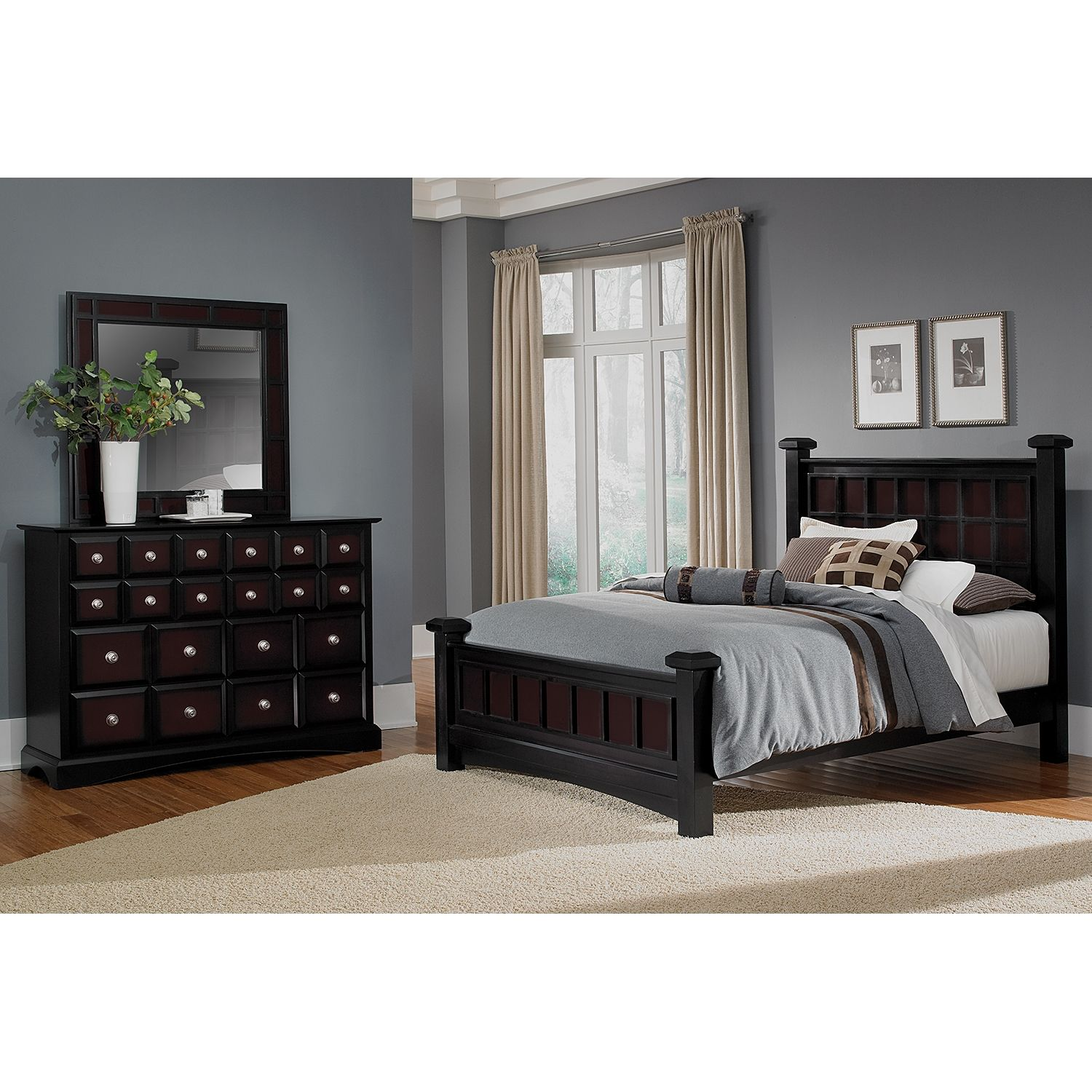 Like The Black For Zachu0027s Room    Neo Classic Black II Kids Furniture  Collection   Value City Furniture Twin Bed $199.99 | Home Sweet Home |  Pinterest ...