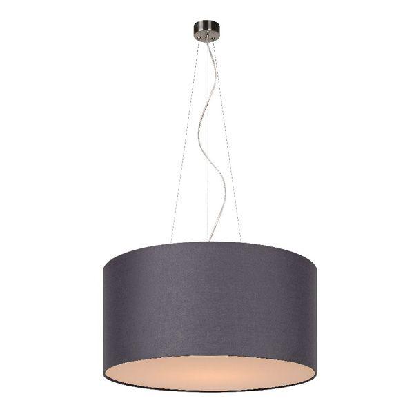 pendelleuchte coral grau 40 cm lamps pinterest pendelleuchte stoff pendelleuchte und. Black Bedroom Furniture Sets. Home Design Ideas