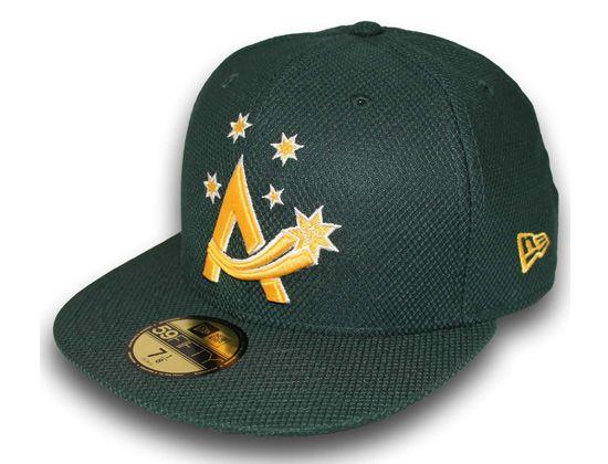 142d54978c857 Diamond Era Team Australia Baseball 59Fifty Fitted Cap by NEW ERA ...