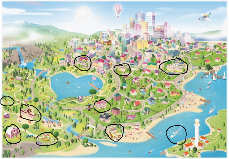 Lego Friends Heartlake Map 4k Pictures 4k Pictures Full Hq