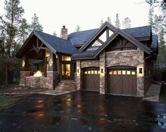 Waterdance harmony traditional exterior denver for Colorado style house plans
