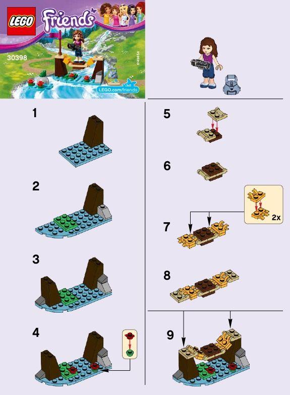 Friends Adventure Camp Bridge Lego 30398 Legos Pinterest