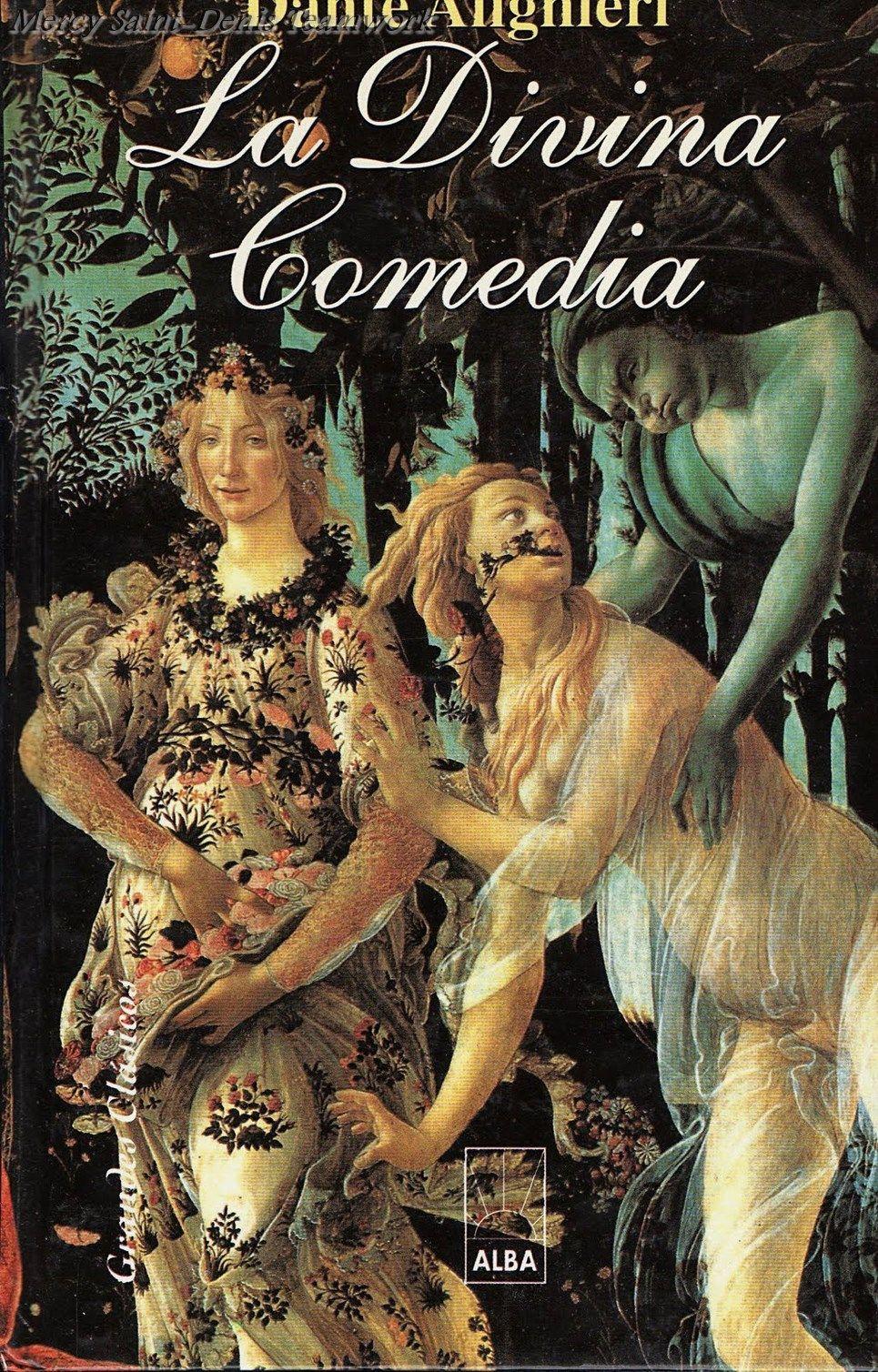 La divina comedia dante book art my books poster