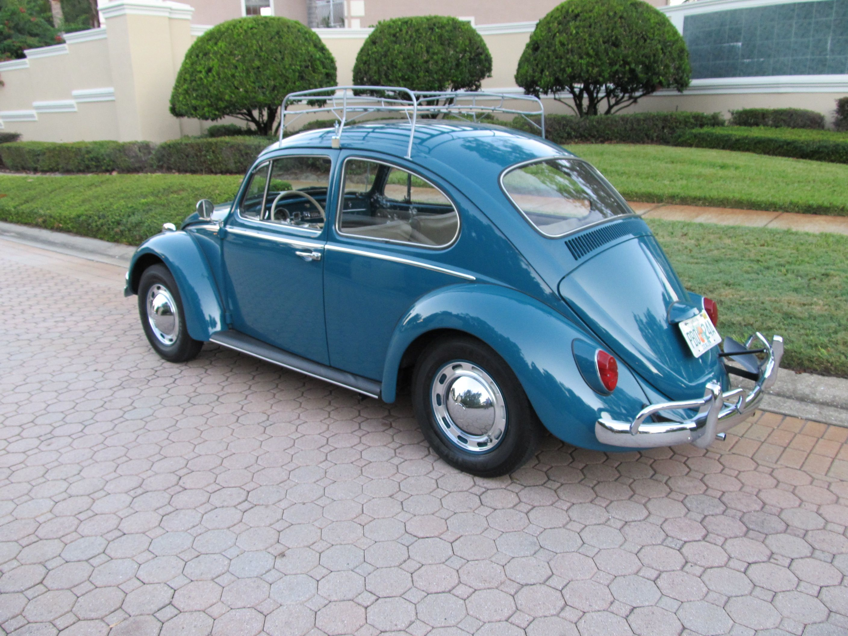 Travel Buggy With Sunroof 1965 Volkswagen Beetle A Nicely Restored Sunroof Bug