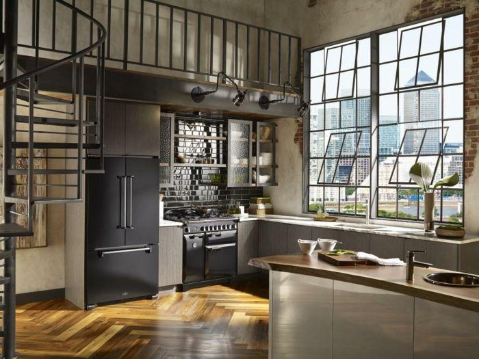 ▷ 1001 + ideas de diseño de cocinas de estilo industrial ...