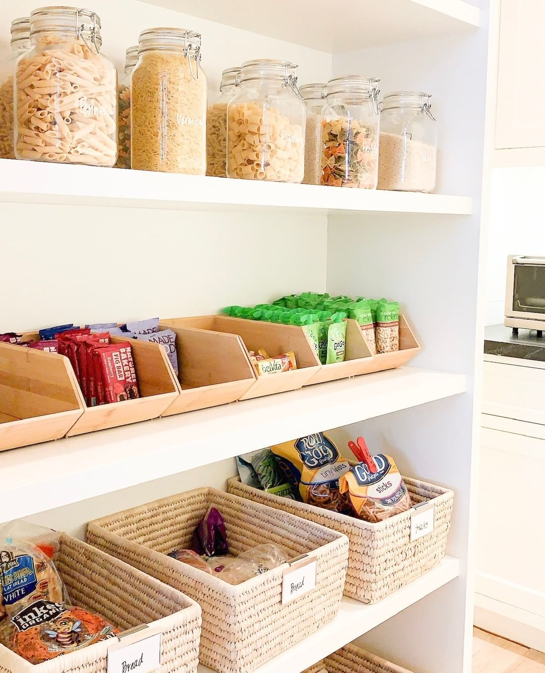 Pantry Organization Pantry Organization Clever Storage Countertop Storage