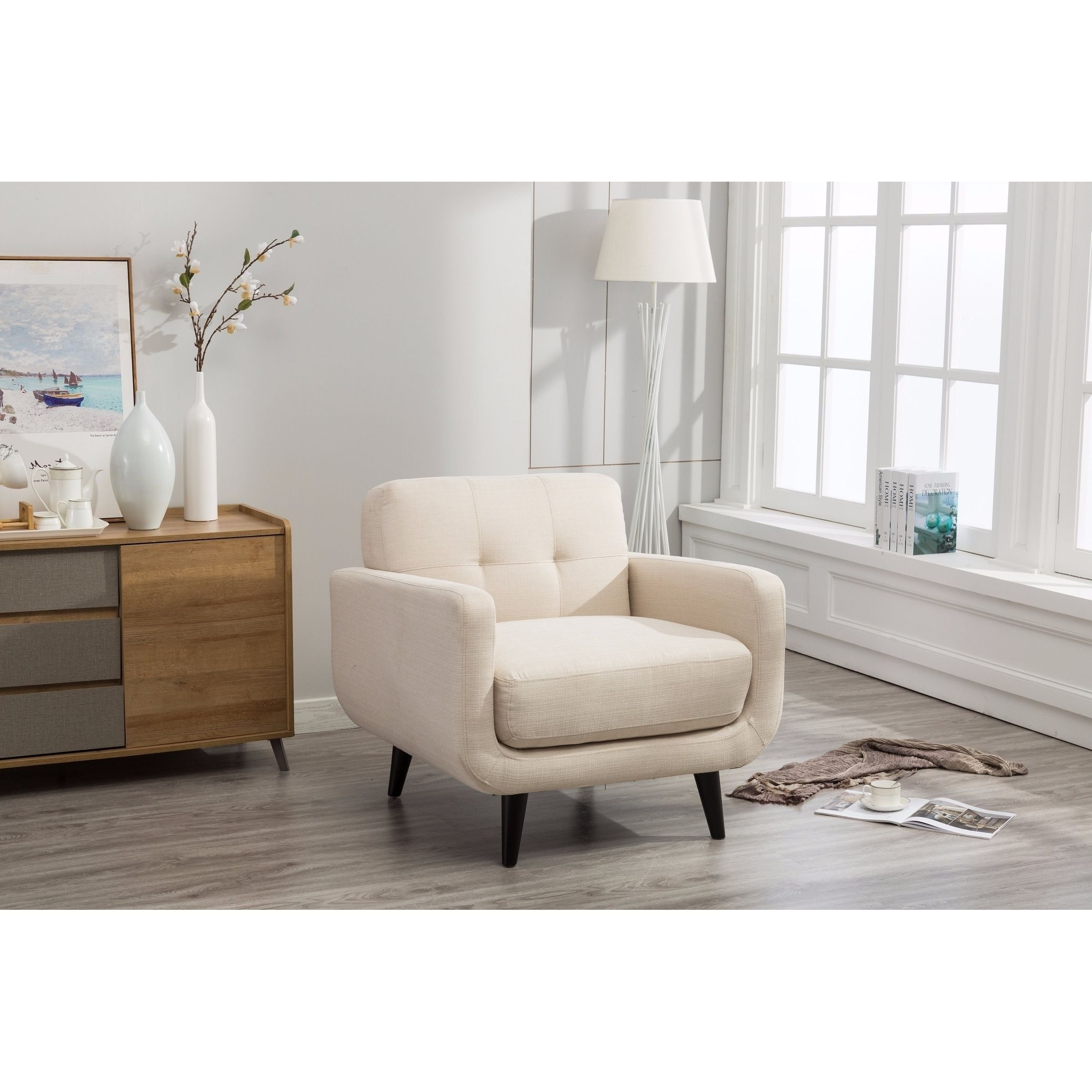 Modibella Contemporary Living Room Accent Chair ...