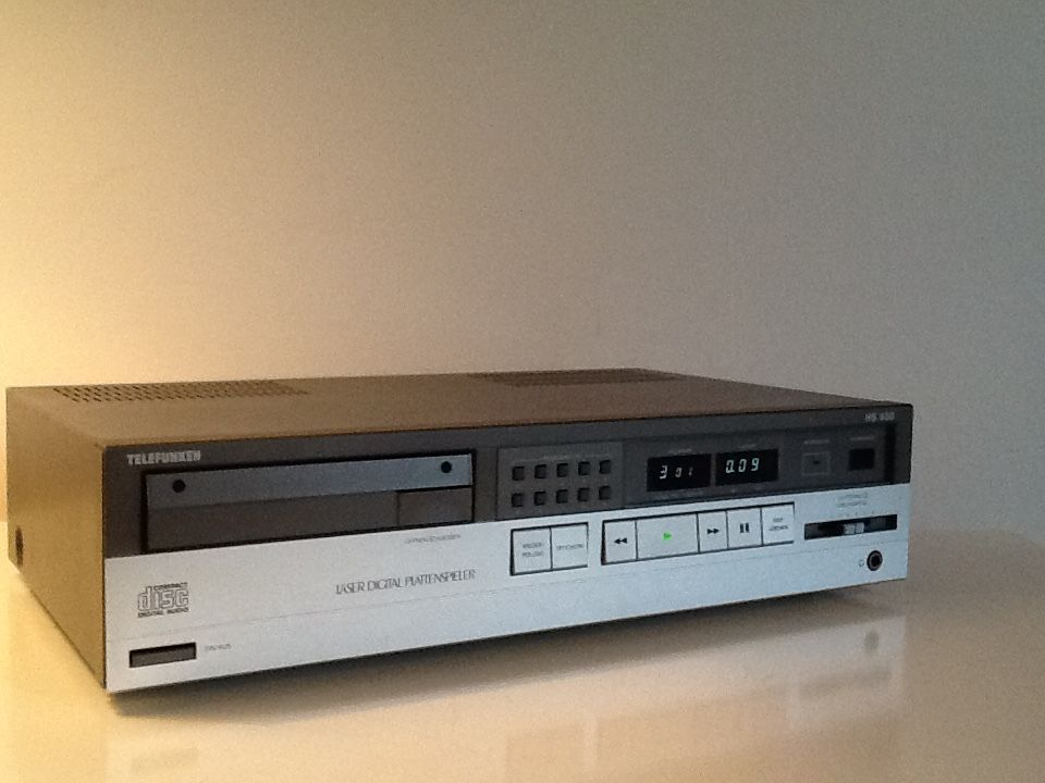 Telefunken Oldschool Cd-Player   Vintage Technology and