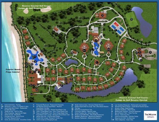 Resort Map (Dec 2015) | Costa Rica | All inclusive resorts ... on la costa golf course map, golf in china map, golf in bermuda map, golf in spain map, golf in ireland map, golf in liberia costa rica, golf in jamaica map, golf in guanacaste costa rica, golf courses costa rica map, golf in scotland map,