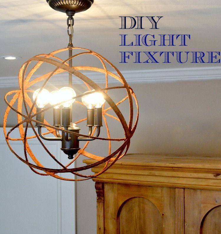 Diy ceiling light update chatfield court diy hanging