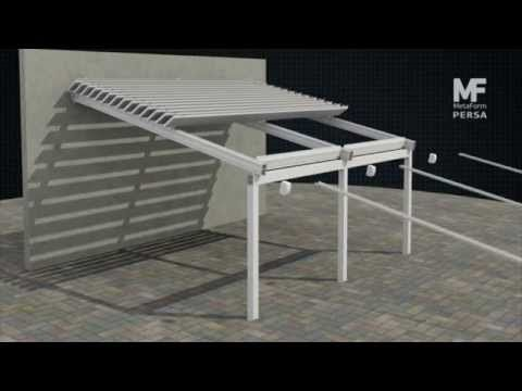 Retractable Roof Persa Installation Techos Corredizos Decoraciones De Casa Techos