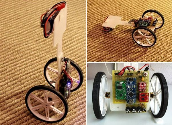 Vertibot – The self balancing 3D printed robot