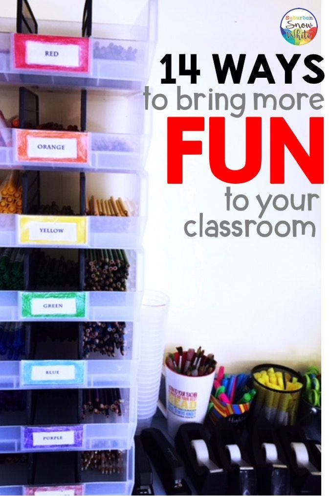 Fourth grade classroom: My favorite things including a spinner wheel
