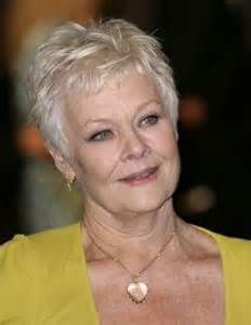 judi dench hairstyle front and back of head - Bing Images   Haircut ...