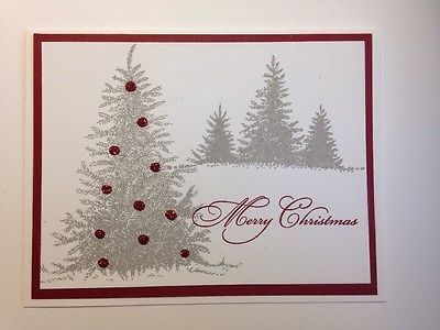 Stampin' Up! Elegant Spruce Christmas Card Kit