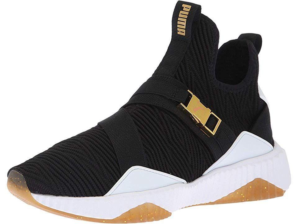 Shoes Puma Black/Metallic Gold