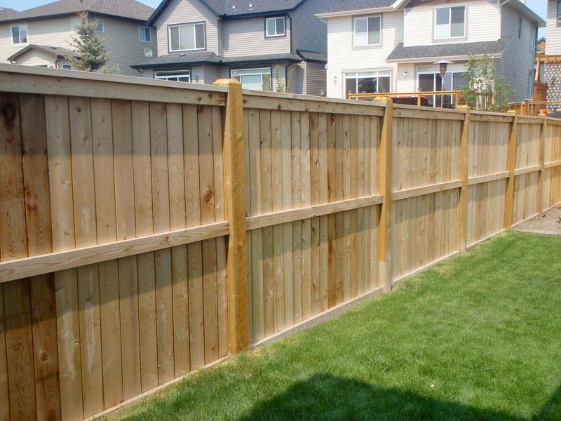 How to build a wood fence with your own hands fencing for Make your own fence