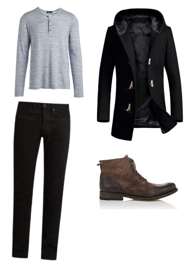 """""""Nimrog"""" by clary-eventos on Polyvore featuring KURO, Vince, Shoto, men's fashion and menswear"""