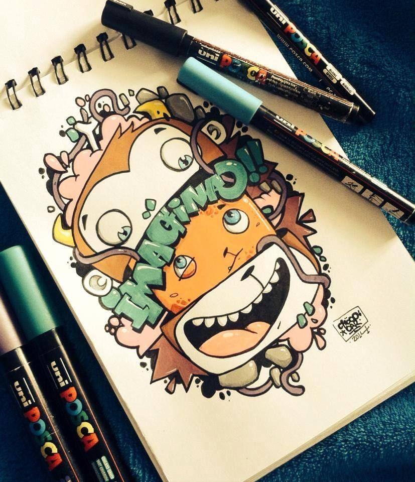 CHOCO CAR x POSCA PERU | Illustrations | Pinterest | Peru, Doodles ...
