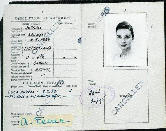"Audrey Hepburn Measurements   Audrey Hepburn, An Elegant Spirit: A Son Remembers""by Sean Hepburn ..."